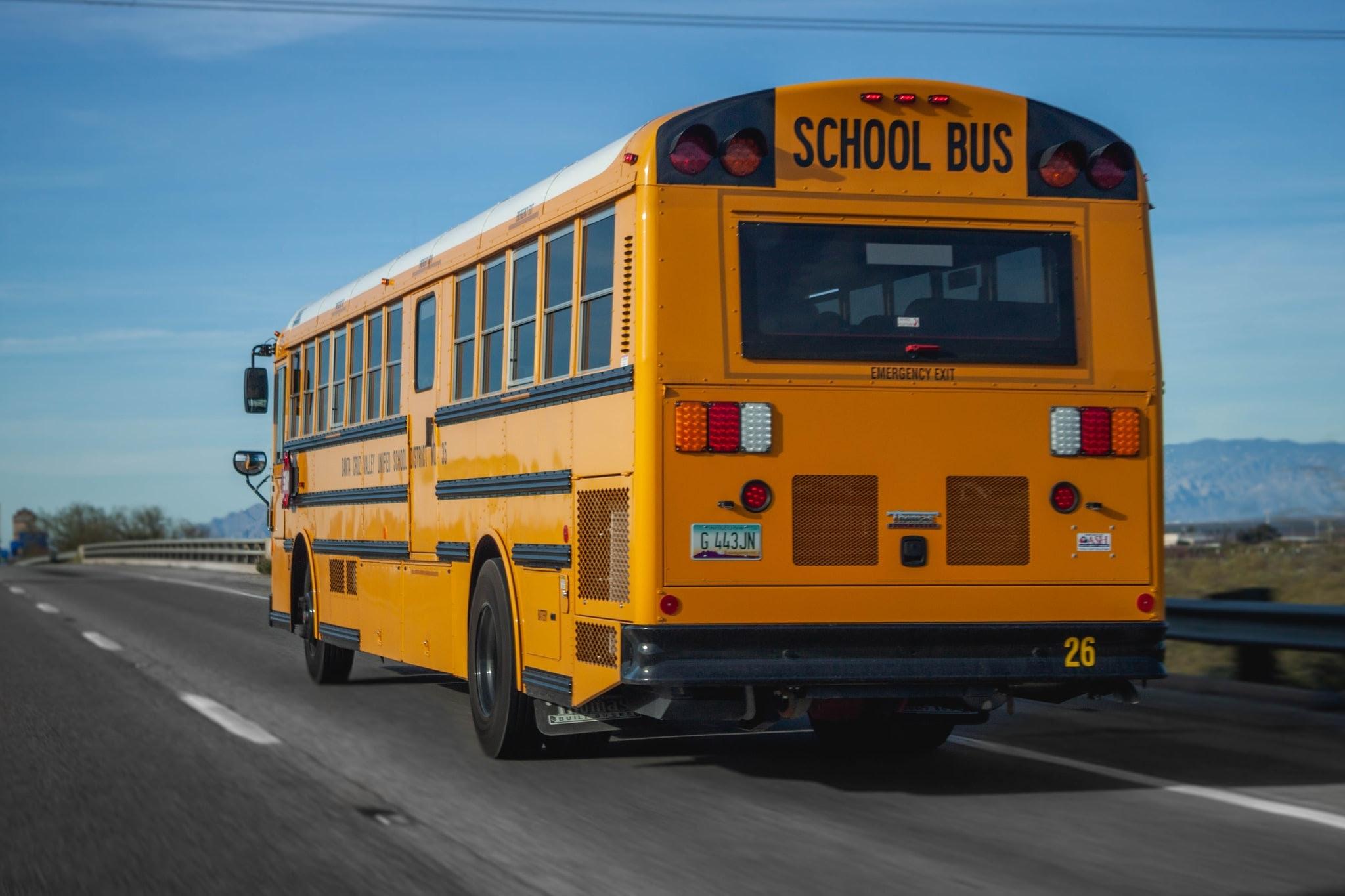 rea systems fog to biodisel school bus